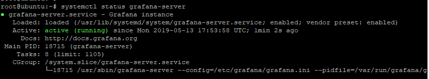 Check Grafana Status