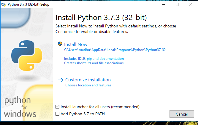 How to Install Python on Windows 10 - JournalDev