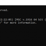 Verify if Python is installed through the Command prompt
