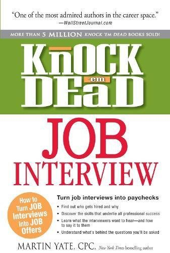 8 Knock Em Dead Job Interview
