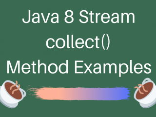 Java Stream Collect