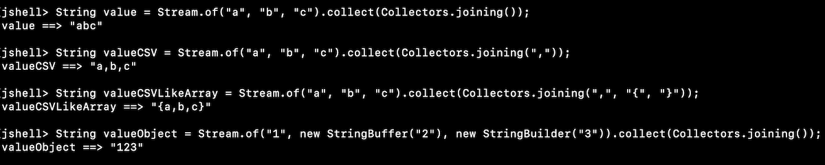 Java Stream Collect Example