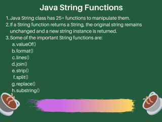 Java String Functions