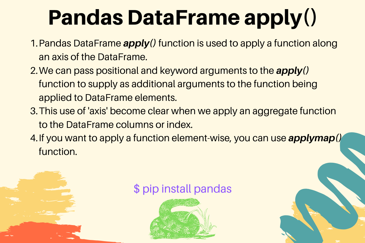 Pandas Dataframe Apply