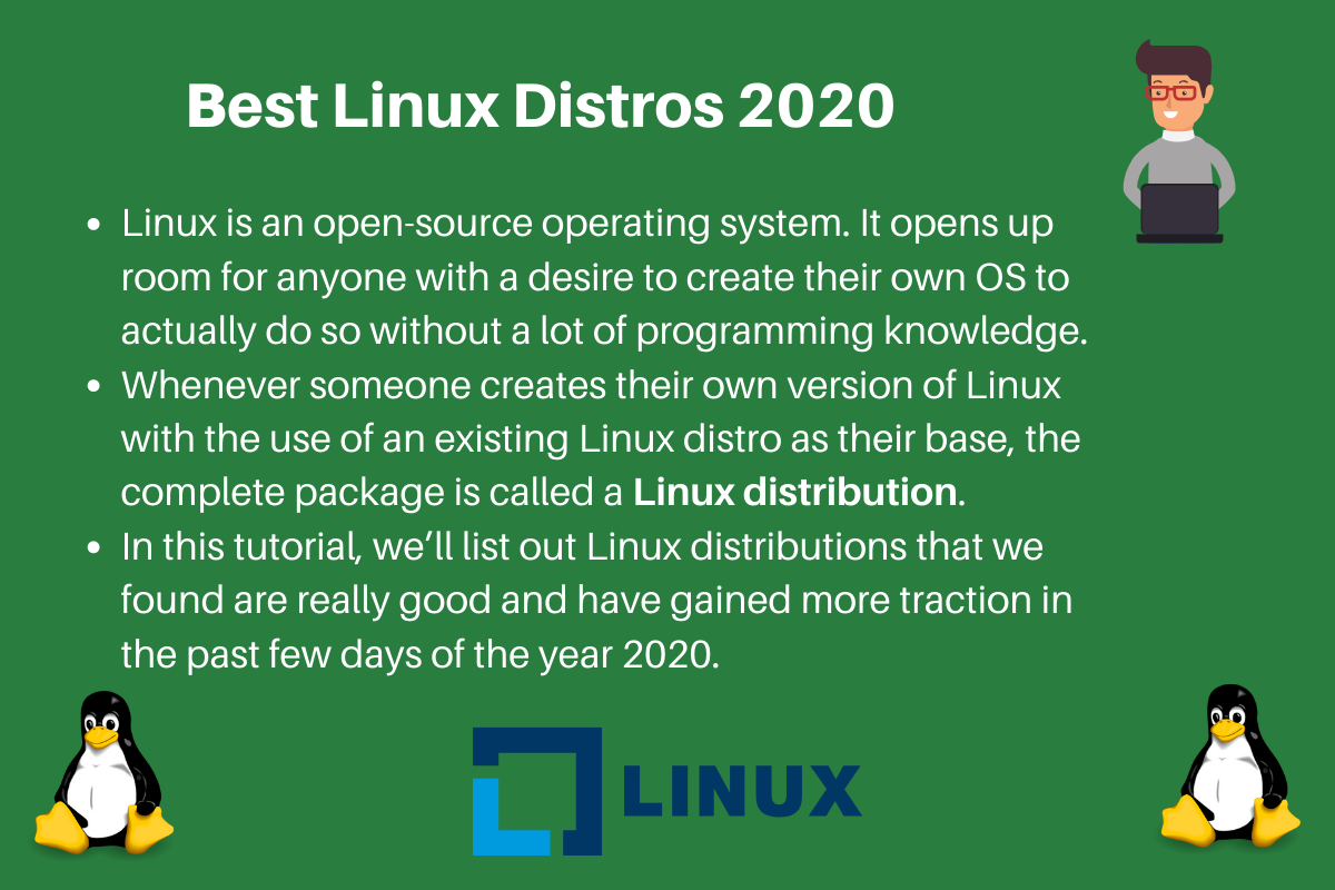 Top 10 Best Linux Distros 2020 Journaldev