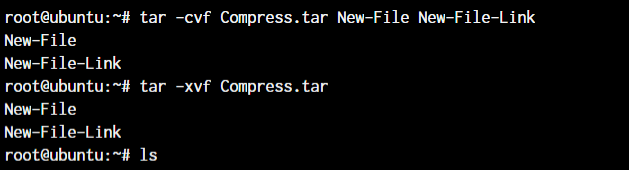 Tar Basic Usage Linux commands you should know