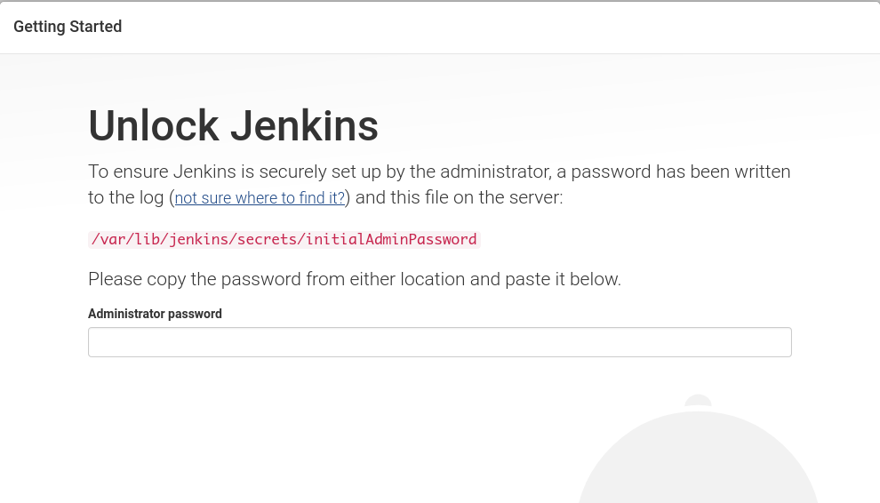 Ubuntu Jenkins Remote Sign In