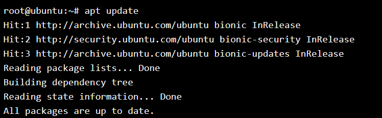 Update Ubuntu Packages Using Apt