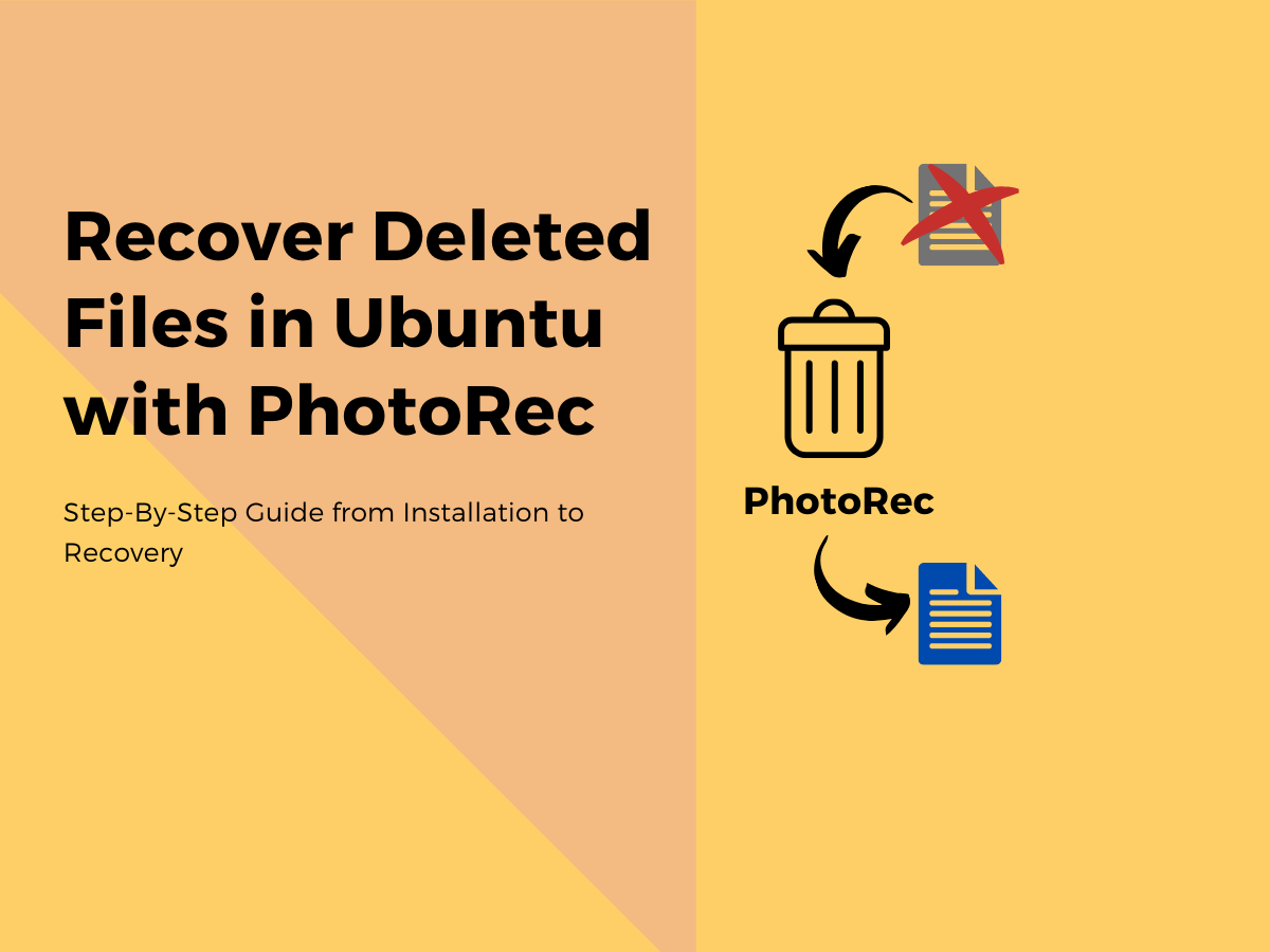 Using PhotoRec To Recover Deleted Files