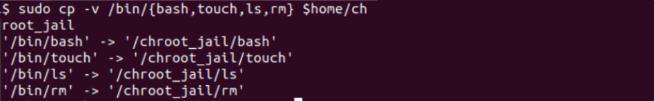 Chroot command in Linux