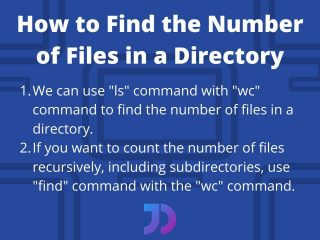 Linux Find The Number Of Files In A Directory