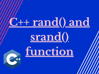 C Rand() And Srand() Function