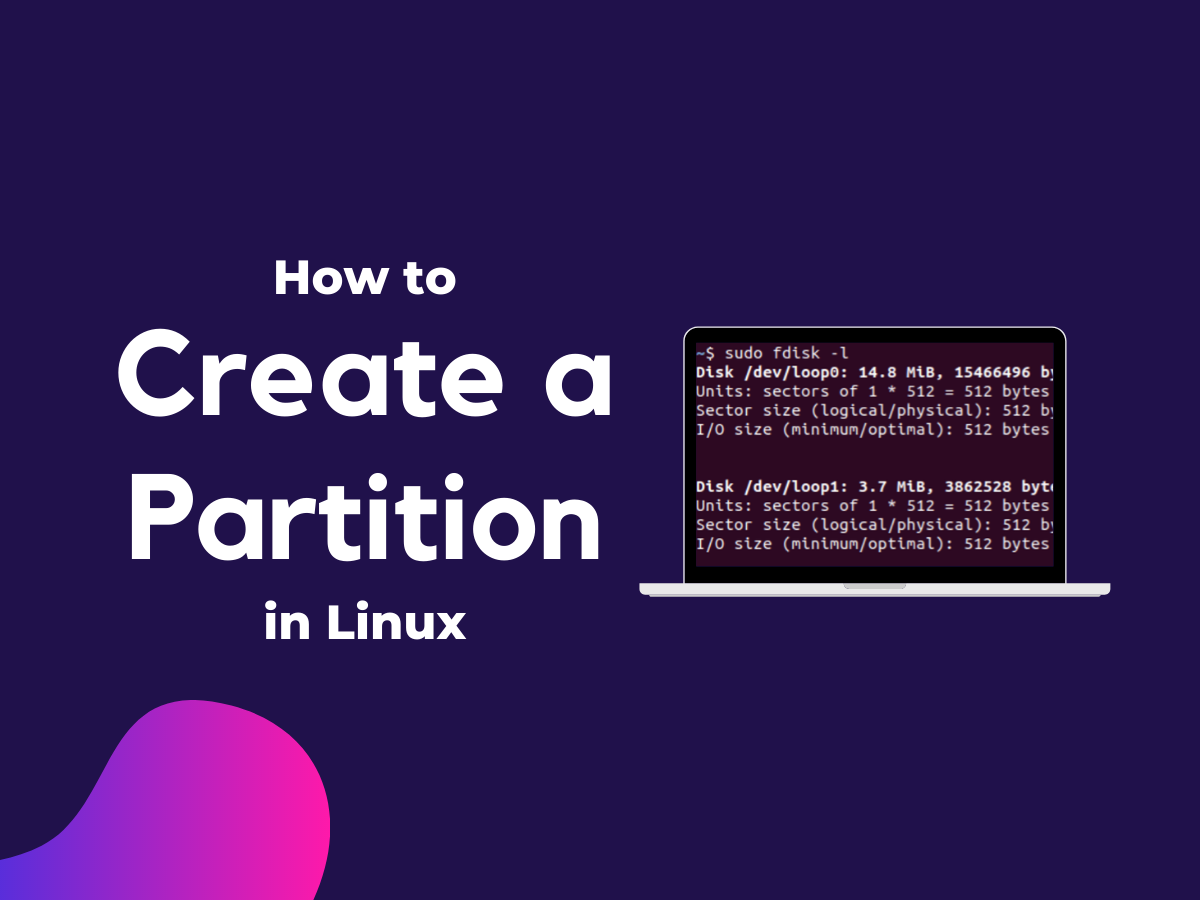 Create A Partition