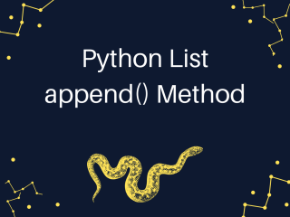 Python List Append Method