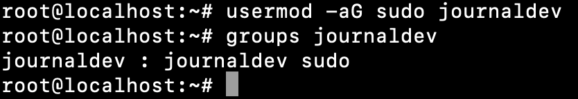 Linux Add User To Sudo Group