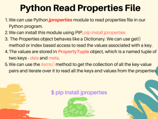 Python Read Properties File