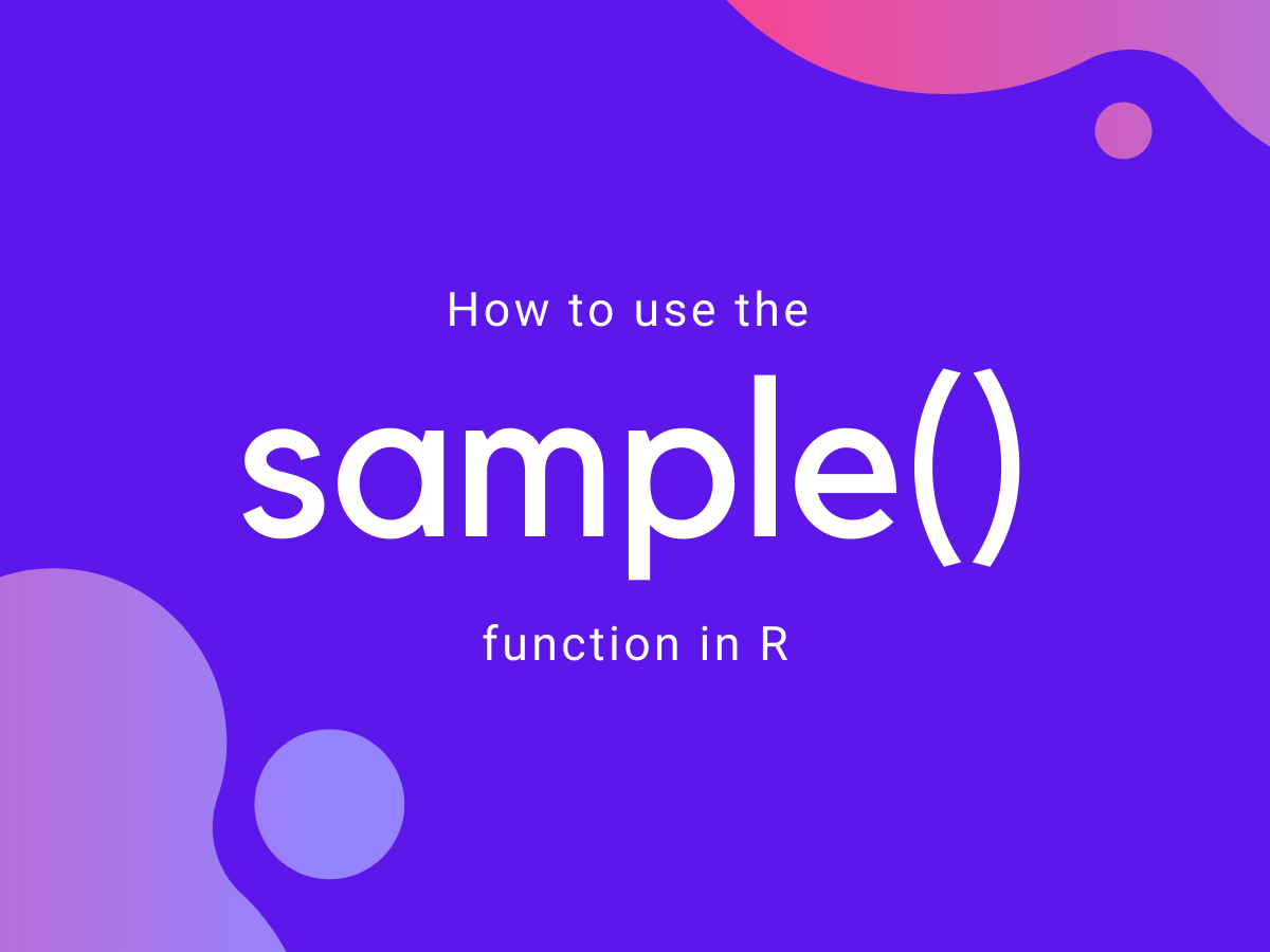 Sample() In R