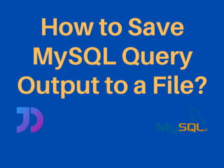 Save Mysql Query Output To File