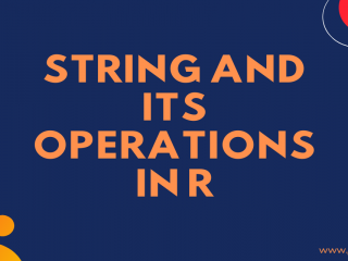 String Operations In R