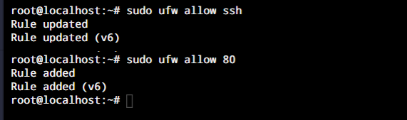 Ufw Allow Ports