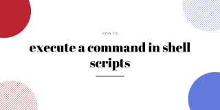 Execute A Command In Shell Scripts