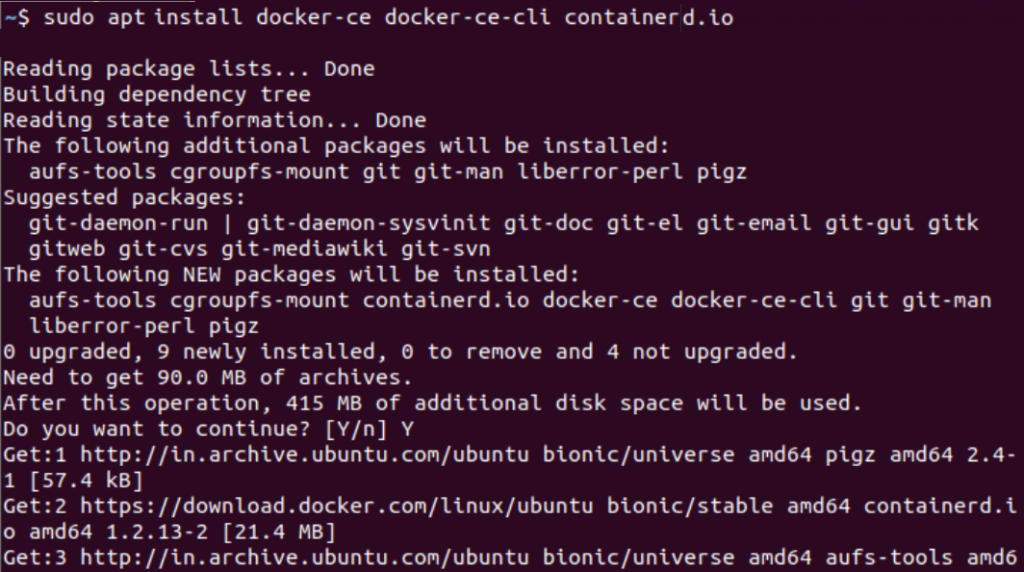 Apt Install Docker Engine 1