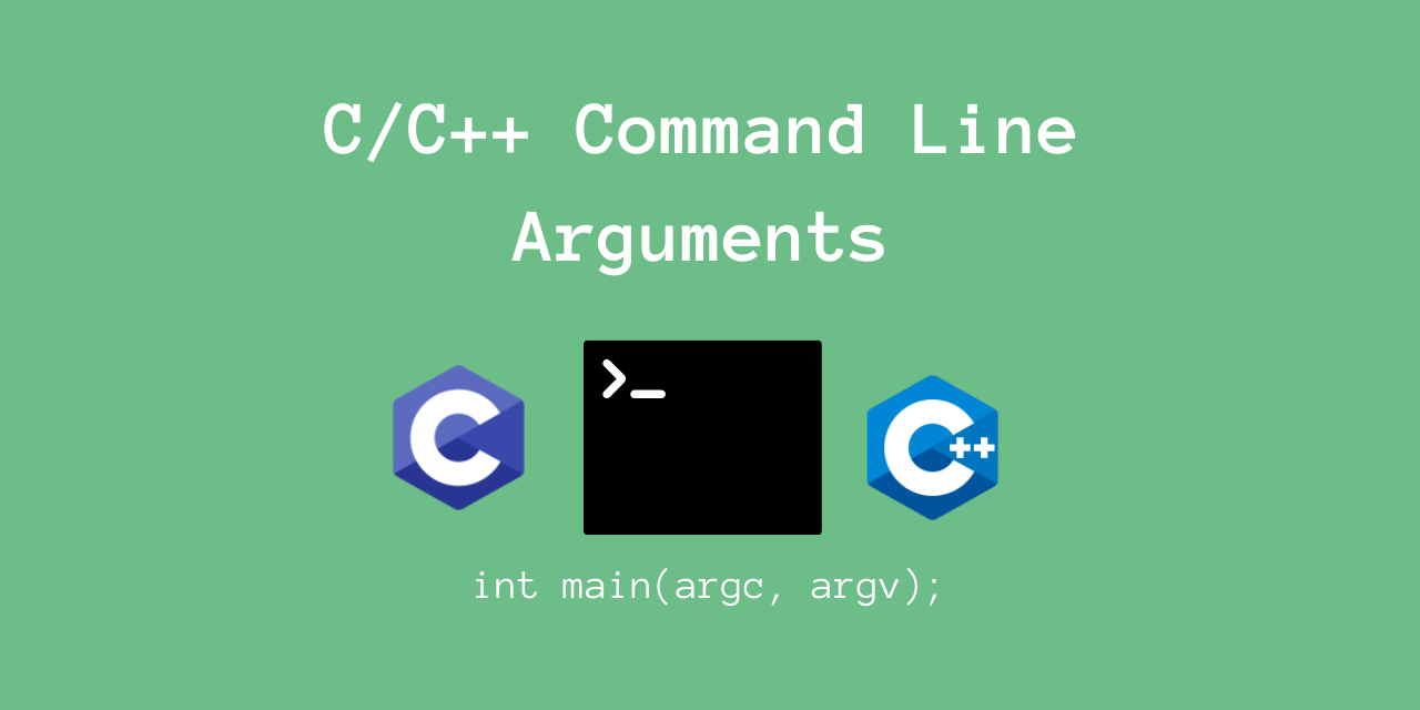 Command Line Arguments C Cpp