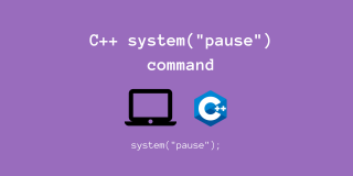 """system(""""pause"""") command C++"""