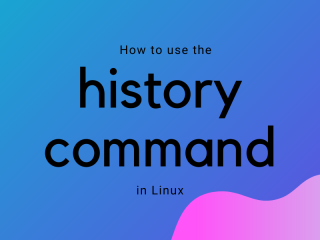 History Command In Linux