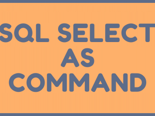 SQL SELECT AS COMMAND