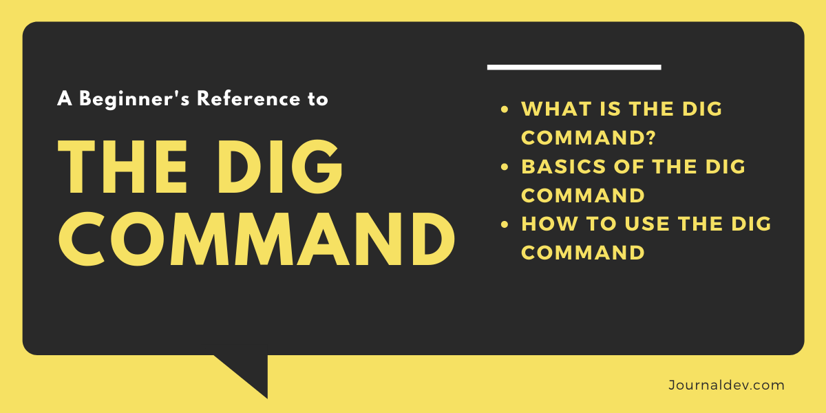 Dig Command In Linux
