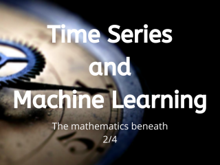Time Series And Machine Learning An Introduction (2)