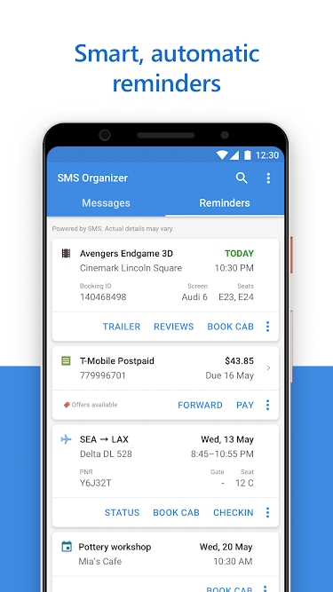 Microsoft Sms Organizer - Most feature rich text messaging app for android