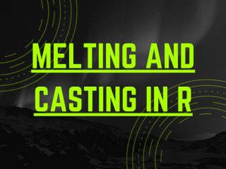 Melting And Casting In R