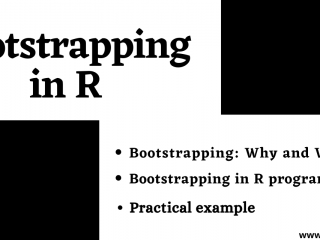Bootstrapping In R