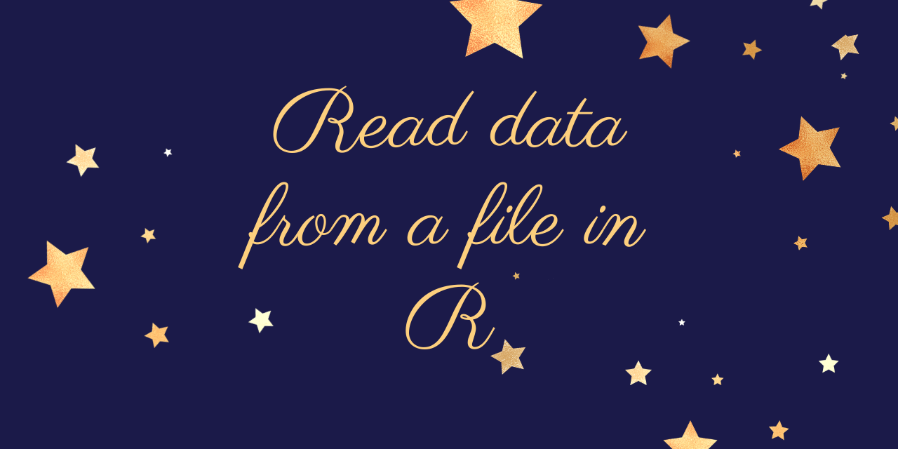Read Data From A File In R