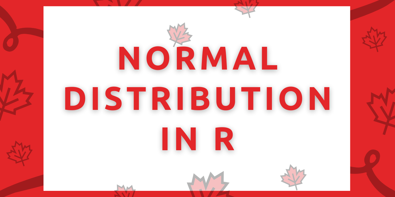 Normal Distribution In R