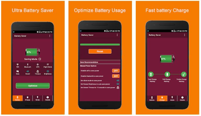 Battery Saver 100% Fast Charging & Optimizing