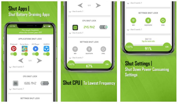 ShutApp Real Battery Saver