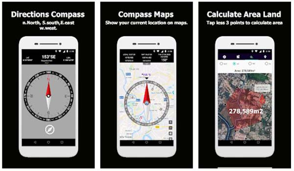 Compass Maps Directional Compass