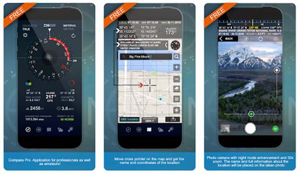 Compass Pro (Altitude, Speed Location, Weather)