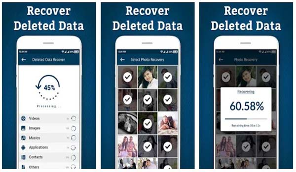Recover Deleted All Files, Photos, And Contacts