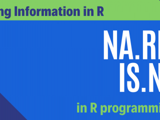Na Rm And Is Na In R