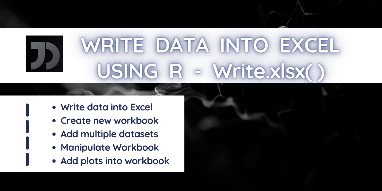 Write Data Into Excel in R