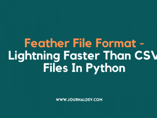 Feather File Format In Python